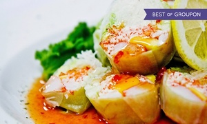 Fin Sushi & Sake Bar: $20 for $40 Worth of Sushi and Japanese Cuisine at Fin Sushi & Sake Bar