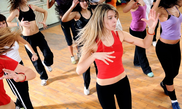EUFitness - Multiple Locations: 5 or 10 Zumba Classes at EUFitness (73% Off)