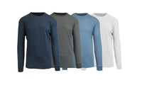 4-Pack Galaxy by Harvic Waffle Knit Thermal Shirts (Multiple Color)