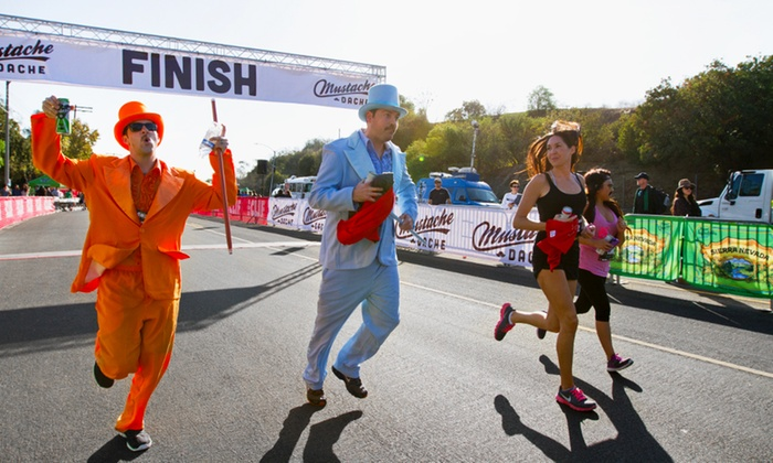 Cooper Wynn Events(Mustache Dache) - Sloan's Lake Park: 5K Entry for One or Two from Mustache Dache on Saturday, November 14 (Up to 38% Off)