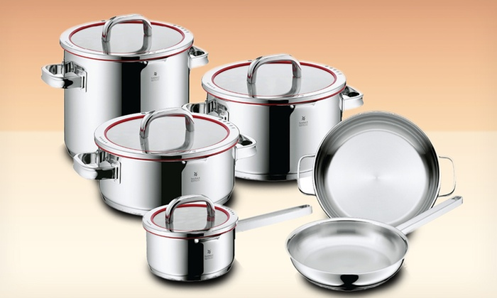 WMF: $499.99 for a WMF Function 4 10-Piece Cookware Set ($1,025 List Price). Free Shipping and Returns.