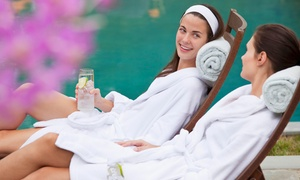 Q Hotels : Spa Day with Hot Drink and Pastry for Two at QHotels Day Spa, 11 Locations (Up to 74% Off*)