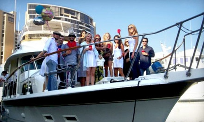 Odyssey Yacht Charter - Coastal San Pedro: $1,150 for a Three-Hour Private-Yacht Charter for Up to 48 People at Odyssey Yacht Charter in San Pedro (Up to $2,425 Value)