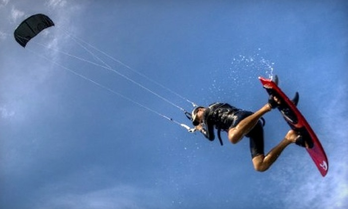 True Blue Water Sports - Ocean Vue: $99 for a Two-Hour First-Launch Kiteboarding Lesson at True Blue Water Sports in Deerfield Beach ($199 Value)