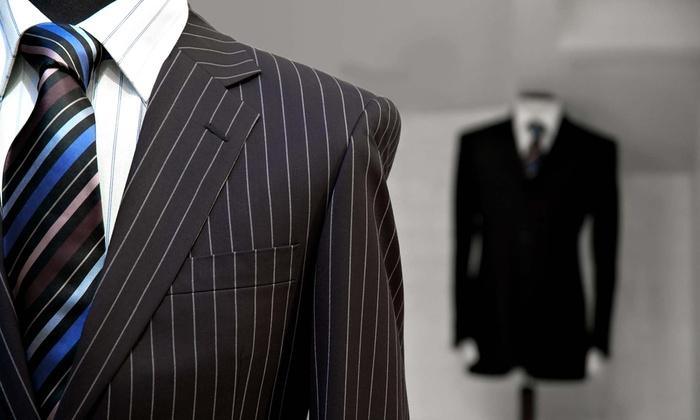 Navin's Custom Clothiers - South Beach: $500 for $1,000 Toward Custom Shirts and Suits at Navin's Custom Clothiers (50% Off)