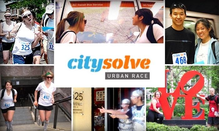 CitySolve - Center City East: $50 Entry for Two to CitySolve Urban Race ($100 Value)