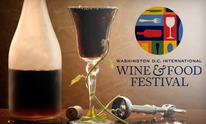 Washington DC International Wine & Food Festival - Federal Triangle: $42 for Ticket to Grand Tasting at Washington DC International Wine & Food Festival, 2 p.m.–6 p.m. on February 13 ($85 Value)