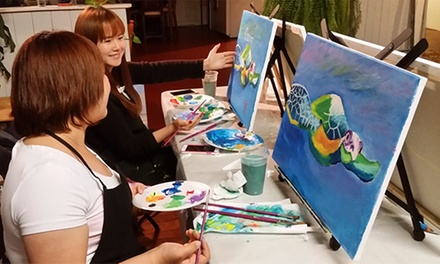 Up to 58% Off paint party at Canvas and Vine