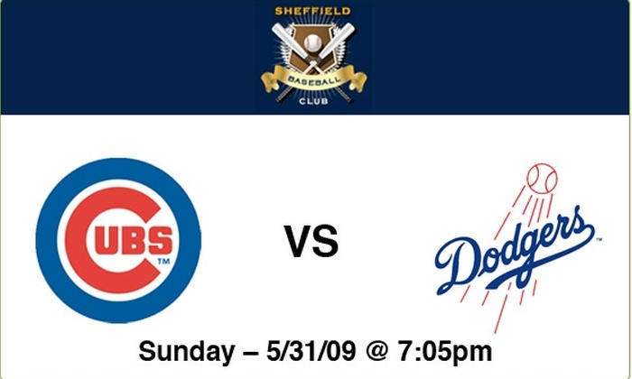 Sheffield Baseball Club - Lakeview: Cubs vs Dodgers - 5/31/09 - 7:05 PM