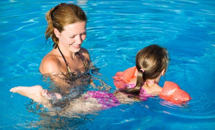 Four 30-Minute Children's Group Swim Lessons and One 1-Month Family Swim Pass (an $80 value) - AquaTech Swim School in Concord