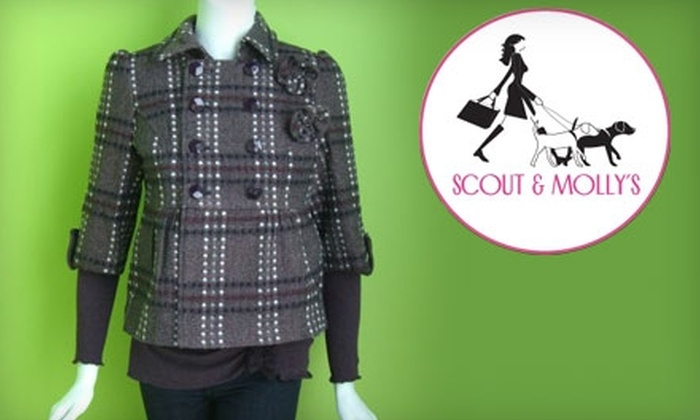 Scout & Molly's - Myers Park: $35 for $75 Worth of Boutique Women's Clothing & Jewelry at Scout & Molly's