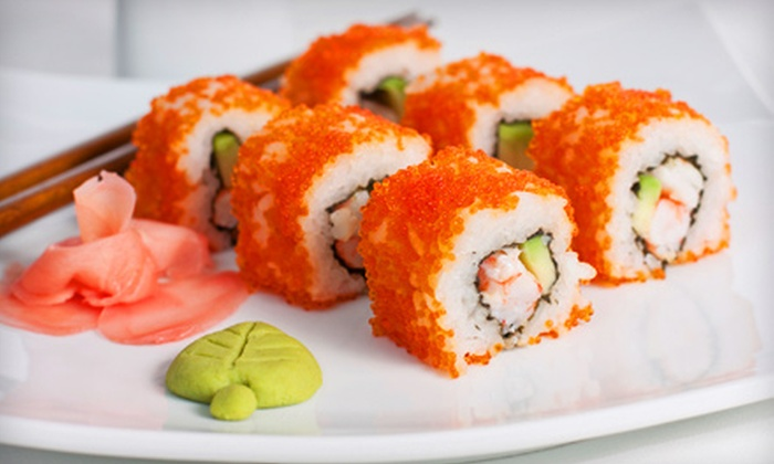 Ju Hachi by Taka - Central Sacramento: $7 for $15 Worth of Sushi and Drinks at Ju Hachi by Taka