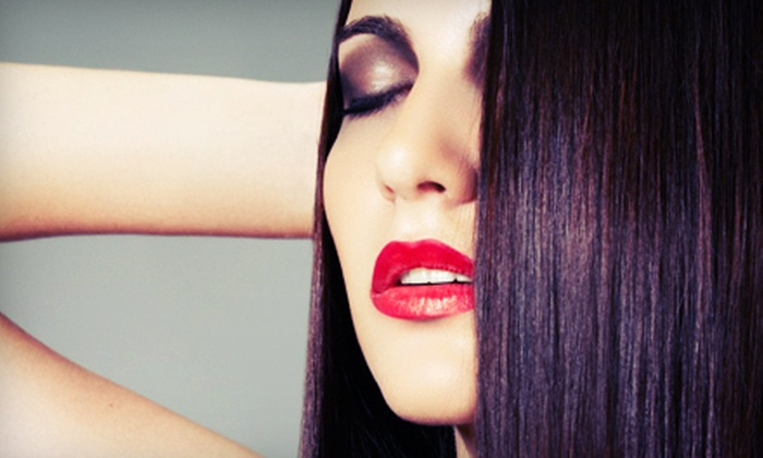 Lashes Plus - Louisville: Set of Lash Extensions or Permanent Eyeliner at Lashes Plus (Up to 56% Off)