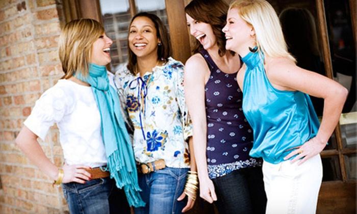 The Denim Loft - Geneva: $30 for $60 Worth of Name-Brand Jeans and Women's Apparel at The Denim Loft in Geneva