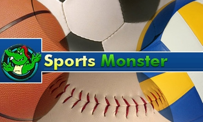 Sports Monster - Cleveland: $25 for $50 Worth of Athletic-League Play with Sports Monster