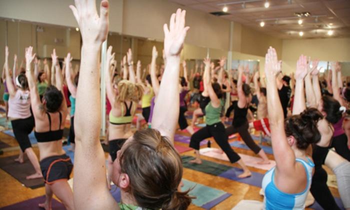 Moksha Yoga Minneapolis - Cedar-Isles-Dean: $10 for a Yoga Class for Two at Moksha Yoga Minneapolis (Up to $34 Value)