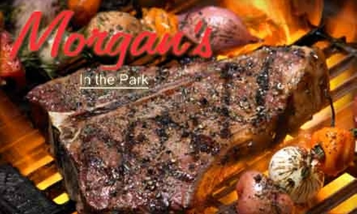 Morgan's in the Park - Brooklyn Park - Maple Grove: $20 for $40 Worth of Fresh Grill Fare and Drinks at Morgan's in the Park