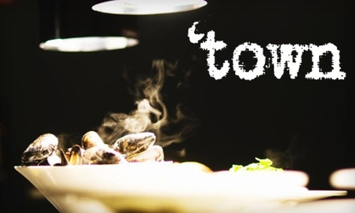 'town - Avondale: $20 for $40 Worth of Fine Dining During Dinner at 'town (Or $10 for $20 During Lunch)