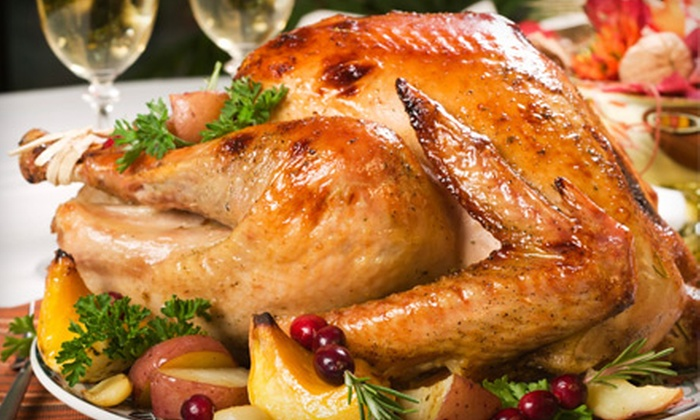 David Burke at Bloomingdale's - Upper East Side: $145 for a Take-Home, Gourmet Thanksgiving Dinner for 6–8 People from David Burke at Bloomingdale's ($299 Value)
