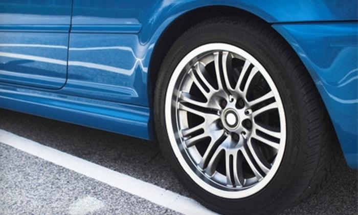 Royal Tire Service - Birmingham: $10 for Five Nitrogen Tire Fill-Ups at Royal Tire Service in Sylacauga ($25 Value)