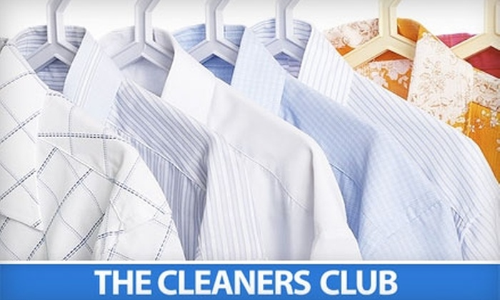 The Cleaners Club - Multiple Locations: $9 for $20 Worth of Dry Cleaning and Laundry Services at The Cleaners Club