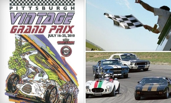 Pittsburgh Vintage Grand Prix - Big Beaver: $7 for a One-Day Pass to Pittsburgh Vintage Grand Prix's Historic Races at BeaveRun on Either Saturday, July 17, or Sunday, July 18 ($15 Value)