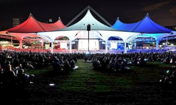 The Cynthia Woods Mitchell Pavilion - Town Center: $7 for One Ticket to the Houston Symphony at The Cynthia Woods Mitchell Pavilion ($15 Value). Three Performances Available.