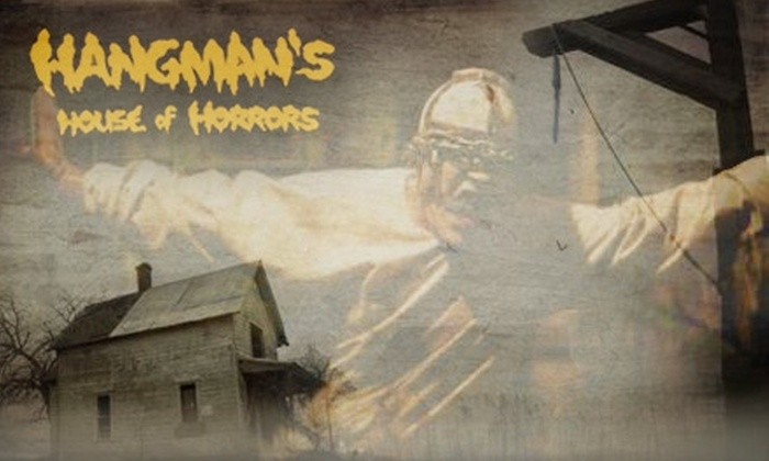 Hangman's House of Horrors - Fort Worth: $10 for One Combo Admission Pass to Three Attractions at Hangman's House of Horrors for XLV weekend