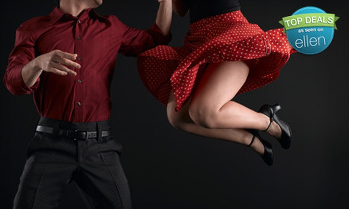 Hot Club of Durham - Old North Durham: 6, 12, or 18 Beginner Swing-Dance Classes at Hot Club of Durham (Up to 82% Off)