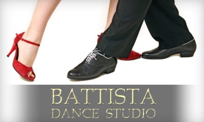 Battista Dance Studio - Hackensack: $45 for Two Private Dance Lessons at Battista Dance Studio ($90 Value)