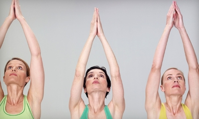 Studio Oxygen - Canfield: $15 for Three Yoga Classes at Studio Oxygen (Up to $39 Value)