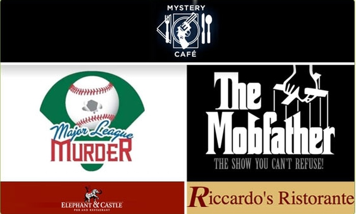 MYSTERY CAFE - Downtown: $29 Murder Mystery Dinner Tickets (42% Off)