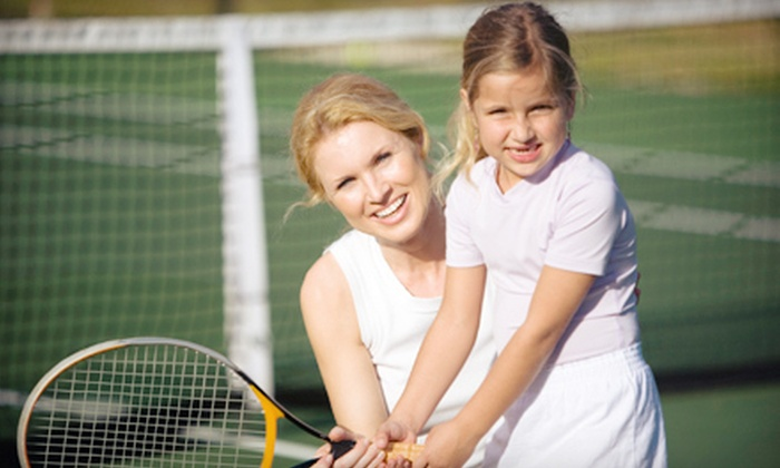 Riverside Badminton & Tennis Club - King George: $15 for Five Full-Day Adults' and Kids' Passes at Riverside Badminton & Tennis Club (Up to $75 Value)