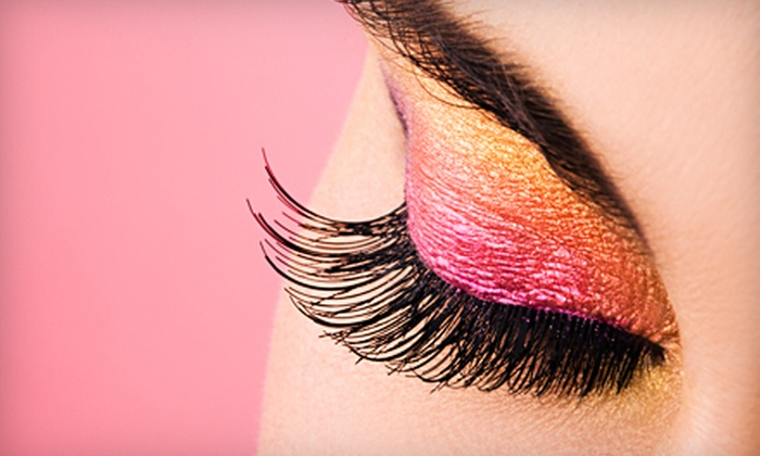 Lashes Galore and More - Adams: $70 for Semipermanent Eyelash Extensions at Lashes Galore and More in Logan ($150 Value)