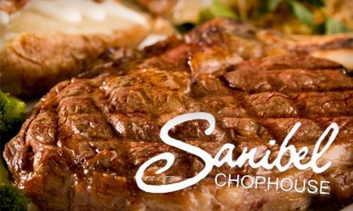 Sanibel Chophouse - Lynbrook: $20 for $40 Worth of Steaks, Seafood, and More at Sanibel Chophouse in Lynbrook