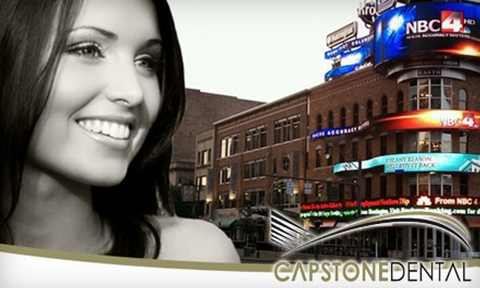 Capstone Dental - Downtown Columbus: $59 for Dental Exam with X-Rays and Cleaning at Capstone Dental ($256 Value)