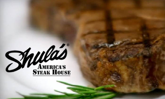 Shula's Steakhouse - Near North Side: $25 for $50 Worth of Steaks, Chops, and More at Shula's Steak House