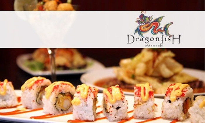 Dragonfish Asian Café - Central Business District: $10 for $20 Worth of Pan-Asian Fare and Drink at Dragonfish Asian Café