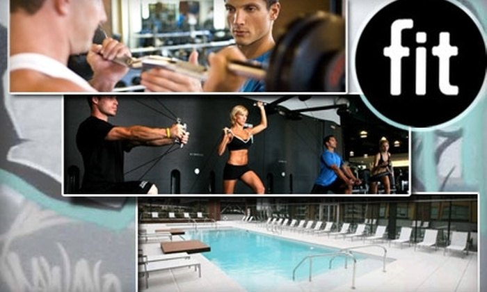 Fit Athletic Club - Harborview: $39 for 39 Visits and One Workout Session at Fit ($156+ Value)