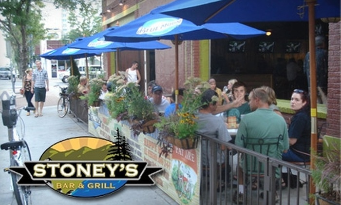 Stoney's Bar and Grill - Capitol Hill: $10 for $20 Worth of Pub Fare and Drinks at Stoney's Bar and & Grill