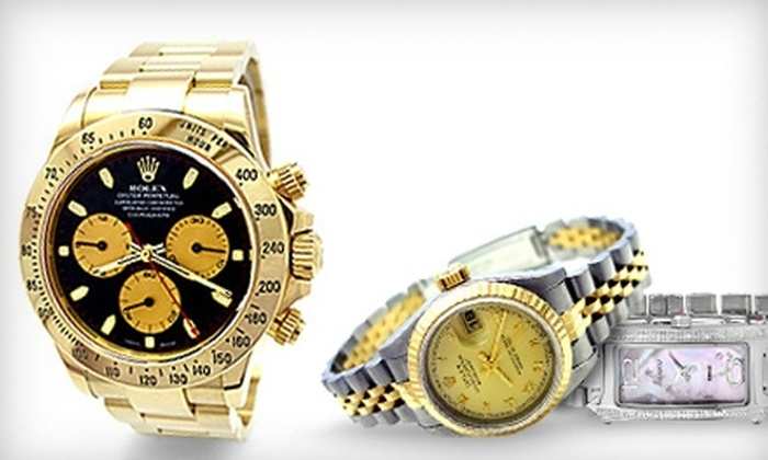 K.S. Mathis Jewelers - Downtown Downers Grove: $15 for Watch Detailing with Battery Replacement at K.S. Mathis Jewelers in Downers Grove ($30 Value)