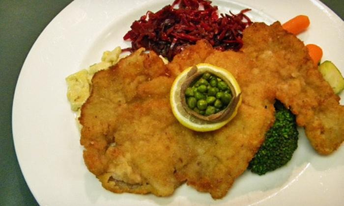 Redlefsen's Rotisserie & Grill - Bristol: European Food at Redlefsen's Rotisserie & Grill (Up to 55% Off). Two Options Available.