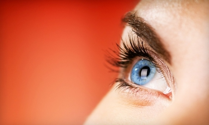 The Lashe Spot - Multiple Locations: Feather Lash or Mascara Look Eyelash Extensions at The Lashe Spot (Up to 62% Off)