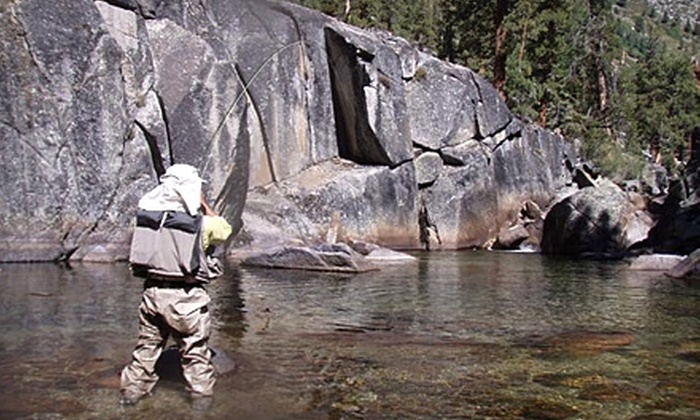 Sierra Fly Fisher Tours - Fresno: $199 for a Full-Day Fly-Fishing Trip for Up to Two People from Sierra Fly Fisher Tours ($400 Value)