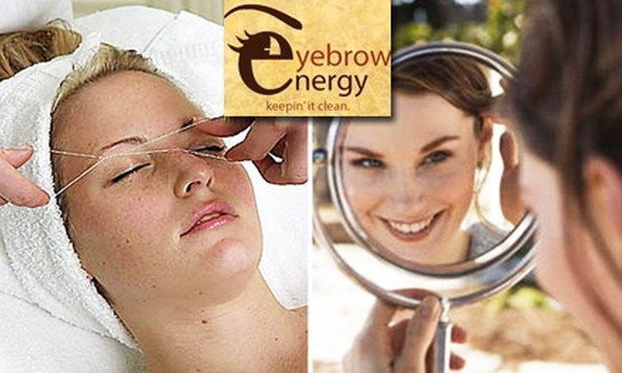 Eyebrow Energy  - East Dallas: $10 for Threading and Scuplting at Eyebrow Energy