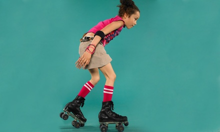 Roller-Skating for Two or Four with Snacks at All American Skating Center (Up to 48% Off)