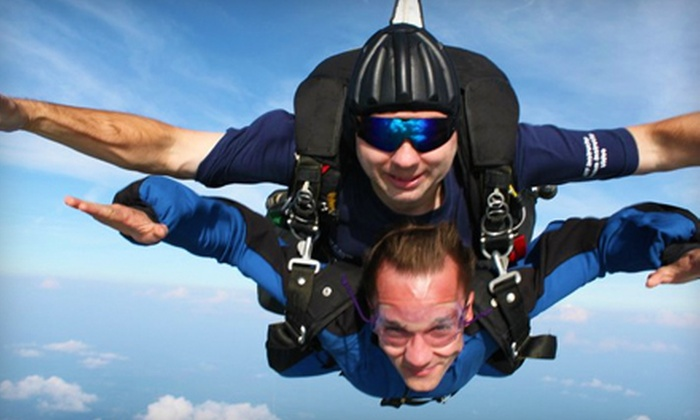 West Tennessee Skydiving - Whiteville: $159 for a Tandem Skydive from West Tennessee Skydiving in Whiteville ($225 Value)