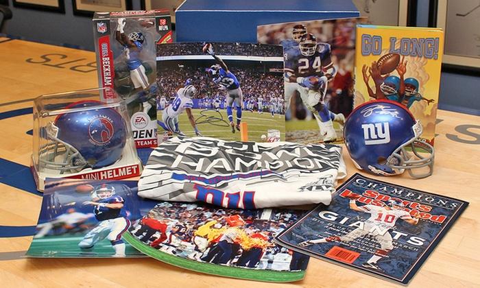 buy popular 8bb24 fc11f New York Giants Ultimate Fan Gift Box (10-Piece)