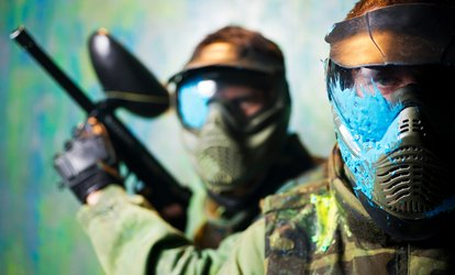 image for Half- or Full-Day Paintball Session for Up to 20 with 50 Balls Each at Hamburger Hill (Up to 94% Off)