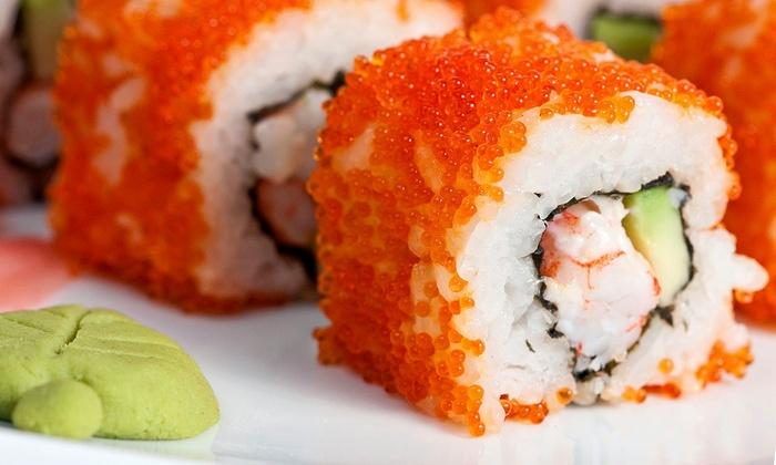Sekisui Sushi Bar & Steakhouse - Walnut Valley: Japanese Fusion Cuisine at Sekisui Sushi Bar & Steakhouse (Half Off). Three Options Available.